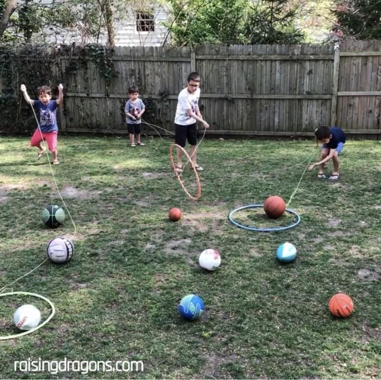 Hula Hoop Lasso Challenge
